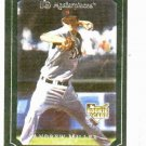 2007 Upper Deck Masterpieces Windsor Green Andrew Miller Detroit Tigers Rookie Card