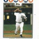 2008 Topps Joel Zumaya Detroit Tigers Baseball Card