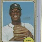 1968 Topps Earl Wilson Detroit Tigers Baseball Card # 160