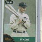 2010 Topps Heritage News Flash Backs Ty Cobb Detroit Tigers Baseball Card