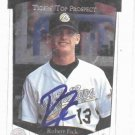 1997 Upper Deck SP Robert Fick Detroit Tigers Autograph Baseball Card Auto