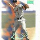 1999 Fleer Skybox Premium Dean Palmer Detroit Tigers Baseball Card