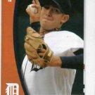 2010 Detroit Tigers Pocket Schedule Rick Porcello