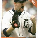 2006 Detroit News Nate Robertson Baseball Card Tigers Oddball