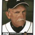 2006 Detroit Free Press Jim Leyland Baseball Card Tigers Oddball