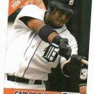 2006 Detroit News Carlos Guillen Baseball Card Tigers Oddball