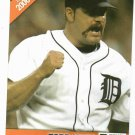 2006 Detroit News Todd Jones Baseball Card Tigers Oddball