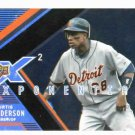 2008 Upper Deck X 2 Xponential Curtis Granderson Detroit Tigers