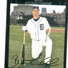 2007 Topps Brent Clevlen Detroit Tigers Baseball Card