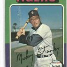 1975 Topps Mickey Stanley Detroit Tigers Baseball Card