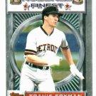 1993 Topps Finest Travis Fryman Detroit Tigers