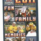 2011 Toledo Mudhens Pocket Schedule Detroit Tigers AAA