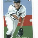 2010 Topps National Chicle Back Brent Dlugach Detroit Tigers Rookie