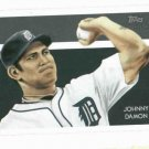 2010 Topps National Chicle Back Johnny Damon Detroit Tigers