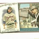 2010 Topps Allen & Ginters This Day In History Magglio Ordonez Detroit Tigers