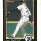 2010 Bowman Max Scherzer Detroit Tigers