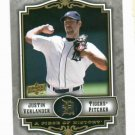 2009 Upper Deck Piece Of History Justin Verlander Detroit Tigers