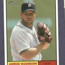 2010 Topps Heritage Jarrod Washburn Detroit Tigers