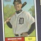 2010 Topps Heritage Brandon Inge Detroit Tigers