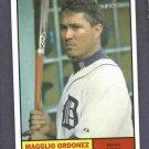2010 Topps Heritage Magglio Ordonez Detroit Tigers