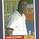 2010 Topps Heritage Marcus Thames Detroit Tigers Yankees