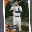 2010 Topps Scott Sizemore Detroit Tigers Rookie
