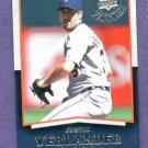 2008 Upper Deck Timeline Justin Verlander Detroit Tigers