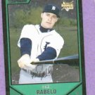 2007 Bowman Draft Picks Chrome Mike Rabelo Detroit Tigers Rookie
