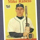 2007 Topps Heritage Mike Rabelo Detroit Tigers Rookie