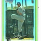 2010 Bowman Chrome Gold Refractor Luke Putkonen Detroit Tigers ROOKIE #d / 50