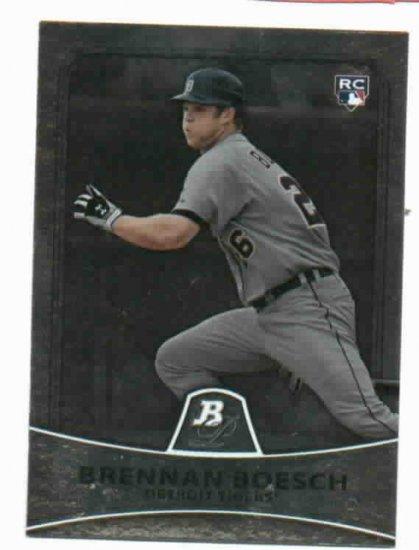 2010 Bowman Platinum Brennan Boesch Detroit Tigers Rookie Card