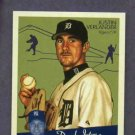 2008 Upper Deck Goudey Mini Red Back Justin Verlander Detroit Tigers