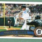 2011 Topps Brennan Boesch Detroit Tigers
