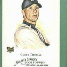 2008 Topps Allen & Ginters Clete Thomas Detroit Tigers