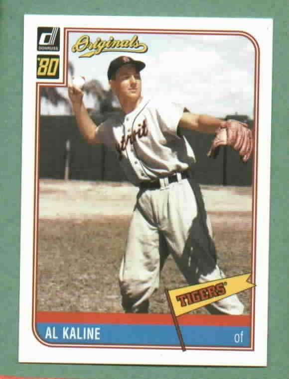 2002 Donruss Originals Al Kaline Detroit Tigers