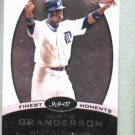 2008 Topps Finest Moments Curtis Granderson Detroit Tigers