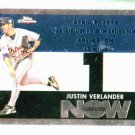 2007 Topps Chrome Generation Now Justin Verlander Detroit Tigers