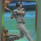 2010 Topps Chrome Red Hot Rookie Brennan Boesch Detroit Tigers Rookie