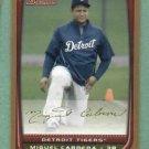2008 Bowman Gold Miguel Cabrera Detroit Tigers