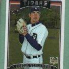2006 Topps Chrome Justin Verlander Detroit Tigers Rookie