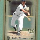 2006 Upper Deck Artifacts Justin Verlander Detroit Tigers Rookie