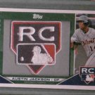 2010 Topps Austin Jackson Rookie Patch Detroit Tigers #d /500