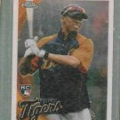 2010 Topps Chrome Austin Jackson Detroit Tigers Rookie