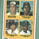 1978 Topps Lou Whitaker Detroit Tigers Rookie