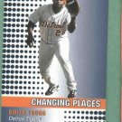 2002 Fleer Changing Places Dimitri Young Detroit Tigers