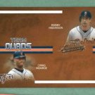 2005 Playoff Team Quads Higginson Monroe Maroth German Detroit Tigers #D/ 150