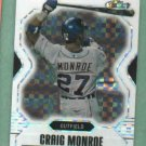2007 Topps Finest Refractor Craig Monroe Detroit Tigers #D 20/25 VERY RARE