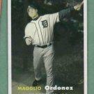 2006 Topps Heritage Magglio Ordonez Detroit Tigers