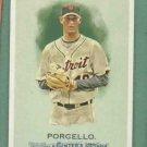 2010 Topps Allen & Ginters Rick Porcello Detroit Tigers # 256