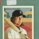 2007 Upper Deck Goudey Magglio Ordonez Detroit Tigers Red Back #176